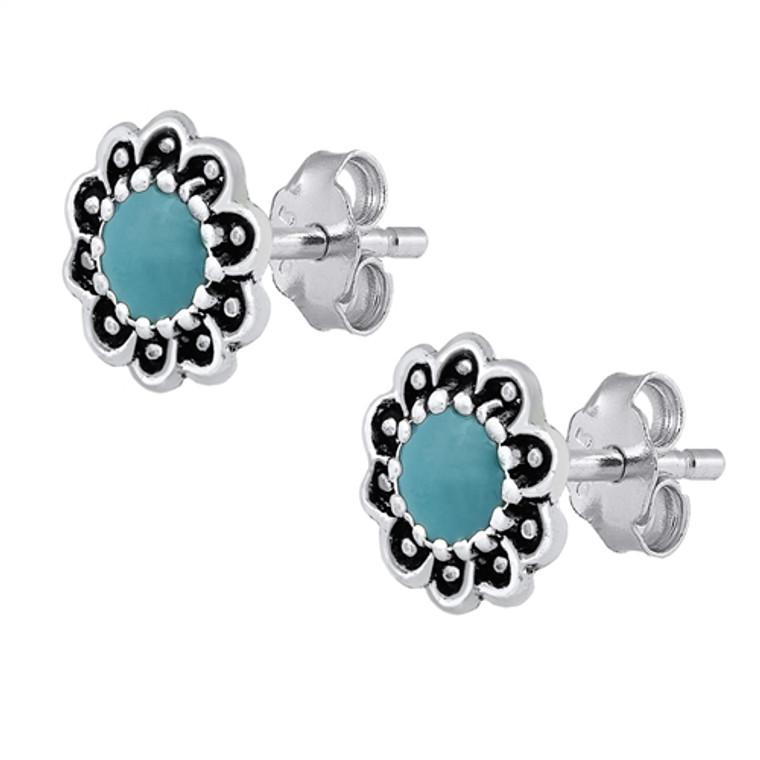 Turquoise Bali Earrings $29