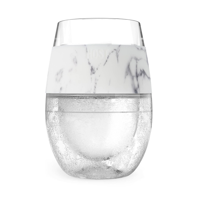 Wine FREEZE™ Cooling Cup in Marble