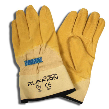 5600 RUFFIAN  PREMIUM RUBBER DIPPED  CANVAS LINED  CRINKLE FINISH  SAFETY CUFF Cordova Safety Products