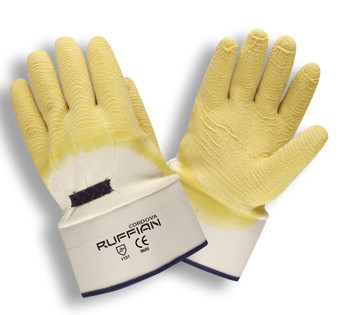 5605 RUFFIAN  PREMIUM RUBBER DIPPED  JERSEY LINED  CRINKLE FINISH  SAFETY CUFF Cordova Safety Products