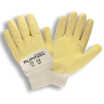 5615 RUFFIAN  PREMIUM RUBBER DIPPED  JERSEY LINED  CRINKLE FINISH  KNIT WRIST Cordova Safety Products