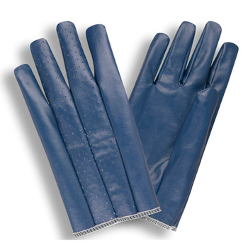 6720M CUT & SEWN NITRILE  BLUE  PERFORATED BACK  SLIP-ON STYLE Cordova Safety Products