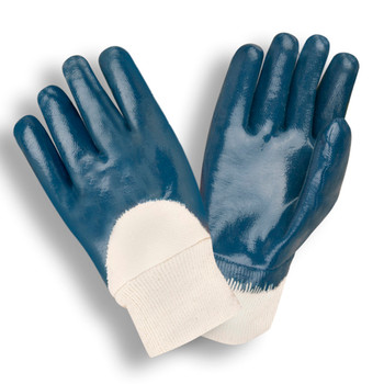 6800-8 STANDARD DIPPED NITRILE  PALM COATED  JERSEY LINED  KNIT WRIST  Cordova Safety Products