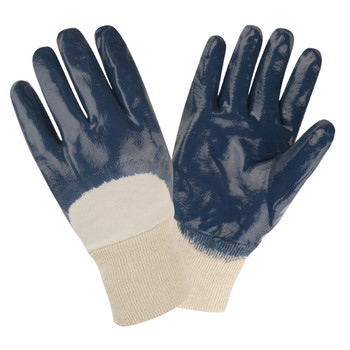 6880S STANDARD DIPPED NITRILE  PALM COATED  INTERLOCK LINED  KNIT WRIST Cordova Safety Products
