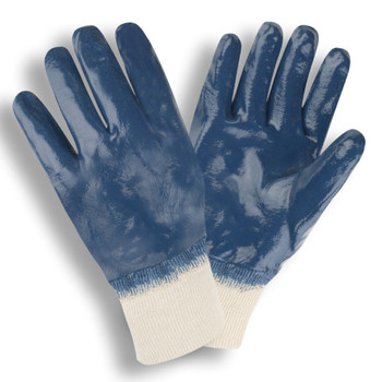 6885S STANDARD DIPPED NITRILE  FULLY COATED  INTERLOCK LINED  KNIT WRIST Cordova Safety Products
