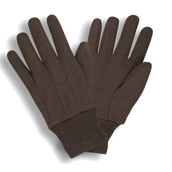 1406 STANDARD WEIGHT  BROWN JERSEY  CLUTE CUT  KNIT WRIST  CADET Cordova Safety Products
