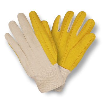 2316 YELLOW CHORE WITH CANVAS BACK  KNIT WRIST Cordova Safety Products