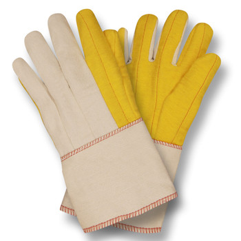 2316G YELLOW CHORE WITH CANVAS BACK  PE GAUNTLET Cordova Safety Products