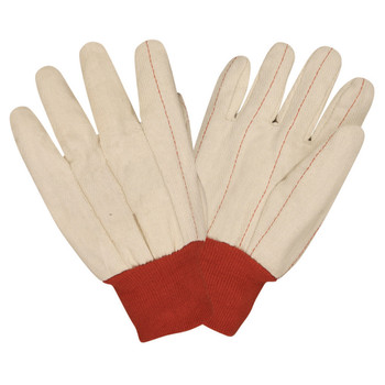24101 DOUBLE PALM  NAP-IN  RED KNIT WRIST Cordova Safety Products