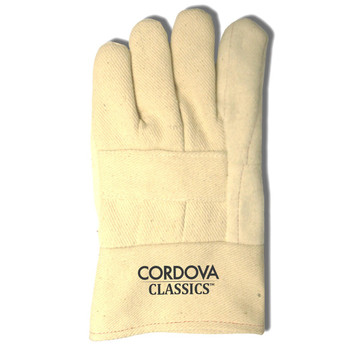 2583 CORDOVA CLASSICS   PREMIUM  GREEN  HEAVY WEIGHT HOTMILL  100% COTTON  3-PLY  BURLAP LINED  BAND TOP Cordova Safety Products
