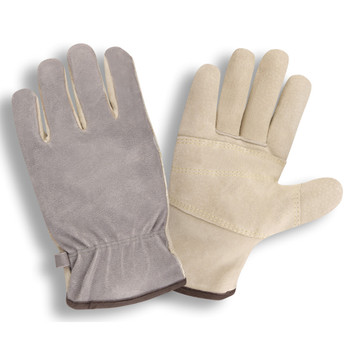 8975L PREMIUM BRUSHED PIGSKIN DRIVER  INTERNAL DOUBLE PALM  5MM FOAM PADDED BACK  KEVLAR SEWN Cordova Safety Products