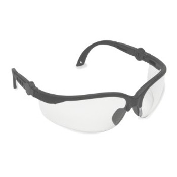 EFB10S AKITA  BLACK FRAME  CLEAR LENS  5-POSITION RATCHET  EXTENDABLE TEMPLES Cordova Safety Products