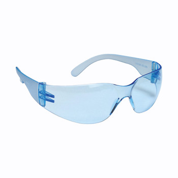 EHF15S BULLDOG  FROSTED BLUE FRAME  LIGHT BLUE LENS Cordova Safety Products