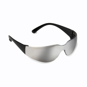 EHB70S BULLDOG  BLACK FRAME  SILVER MIRROR LENS Cordova Safety Products