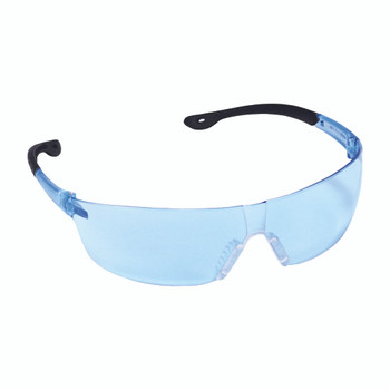 EGF15S JACKAL  LIGHT BLUE LENS  FROSTED BLUE TEMPLE  CLEAR NOSE PIECE Cordova Safety Products