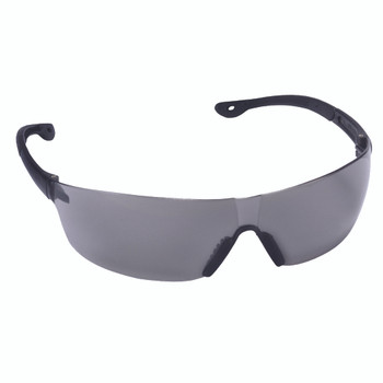 EGF20S JACKAL  GRAY LENS  FROSTED GRAY TEMPLE  BLACK NOSE PIECE Cordova Safety Products