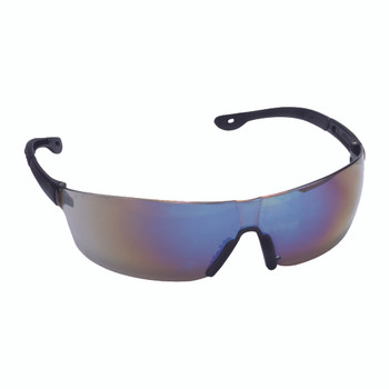 EGF60S JACKAL  BLUE MIRROR LENS  FROSTED GRAY TEMPLE  BLACK NOSE PIECE Cordova Safety Products