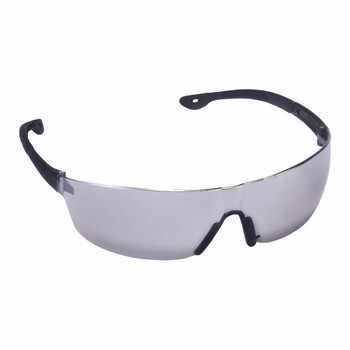 EGF70S JACKAL  SILVER MIRROR LENS  FROSTED GRAY TEMPLE  BLACK NOSE PIECE Cordova Safety Products