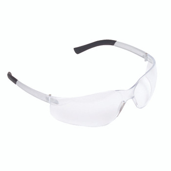 EL10S DANE  FROSTED CLEAR FRAME  CLEAR LENS  TPR TEMPLES Cordova Safety Products
