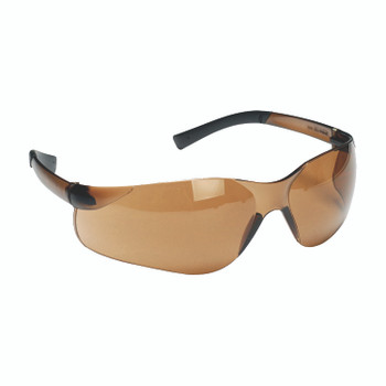 EL25S DANE  FROSTED BROWN FRAME  BROWN LENS  TPR TEMPLES Cordova Safety Products