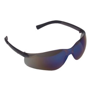 EL60S DANE  BLACK FRAME  BLUE MIRROR LENS  TPR TEMPLES Cordova Safety Products