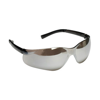 EL70S DANE  BLACK FRAME  SILVER MIRROR LENS  TPR TEMPLES Cordova Safety Products