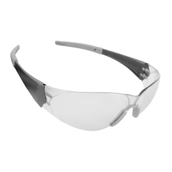 ENB10S DOBERMAN  BLACK FRAME  CLEAR LENS  GRAY GEL NOSE PIECE & TEMPLE SLEEVES  Cordova Safety Products