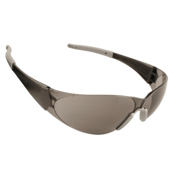 ENB20S DOBERMAN  BLACK FRAME  GRAY LENS  GRAY GEL NOSE PIECE & TEMPLE SLEEVES Cordova Safety Products