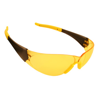 ENB30S DOBERMAN  FROSTED AMBER FRAME  AMBER LENS  CLEAR GEL NOSE & TEMPLE SLEEVES Cordova Safety Products