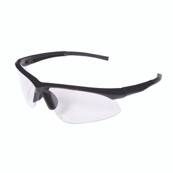 EOB10S CATALYST  BLACK GLOSS FRAME  CLEAR LENS  BAYONET TEMPLES Cordova Safety Products