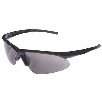 EOB20S CATALYST  BLACK GLOSS FRAME  GRAY LENS  BAYONET TEMPLES Cordova Safety Products