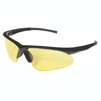 EOB30S CATALYST  BLACK GLOSS FRAME  AMBER LENS  BAYONET TEMPLES Cordova Safety Products