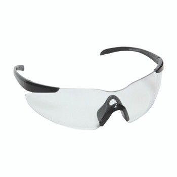 E01B10 OPTICOR  BLACK FRAME  CLEAR LENS  TPR NOSE PIECE & TEMPLES Cordova Safety Products