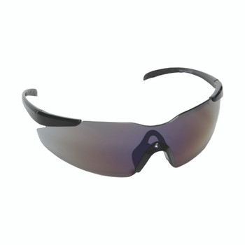 E01B60 OPTICOR  BLACK FRAME  BLUE MIRROR LENS  TPR NOSE PIECE & TEMPLES Cordova Safety Products