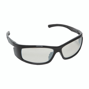 E02B50 VENDETTA  BLACK GLOSS FRAME  INDOOR/OUTDOOR LENS  INTEGRATED SIDE SHIELDS Cordova Safety Products