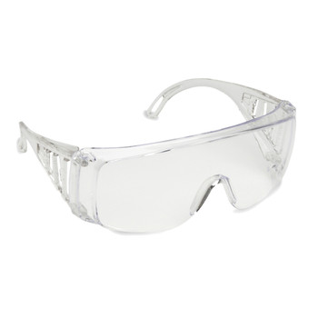 EC10SX SLAMMER  CLEAR UNCOATED LENS  OTG  VENTED CLEAR FRAME Cordova Safety Products