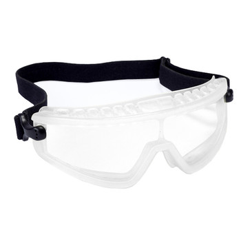 GDS10T DS-1  DUST/SPLASH GOGGLES WITH CLEAR FRAME  CLEAR LENS ANTI-FOG Cordova Safety Products