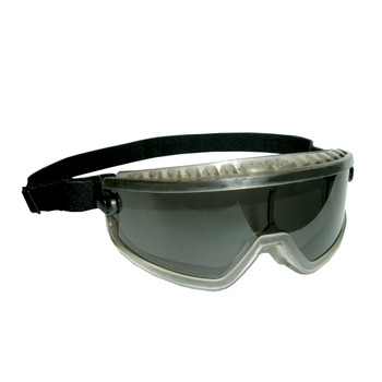 GDS20 DS-1  DUST/SPLASH GOGGLES WITH DARK GRAY FRAME  GRAY LENS Cordova Safety Products