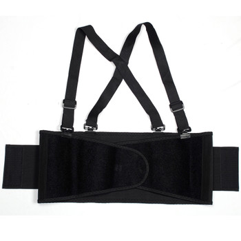 BSB01-3XL BACK SUPPORT BELT WITH BREAKAWAY SUSPENDERS  QUICK ADJUST ELASTIC OUTER PANELS Cordova Safety Products