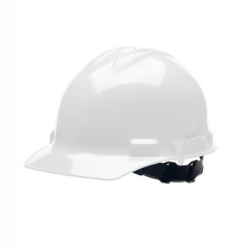 H24S1 DUO  WHITE CAP-STYLE HELMET  4-POINT PINLOCK SUSPENSION Cordova Safety Products