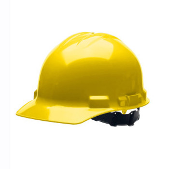 H24S2 DUO  YELLOW CAP-STYLE HELMET  4-POINT PINLOCK SUSPENSION Cordova Safety Products