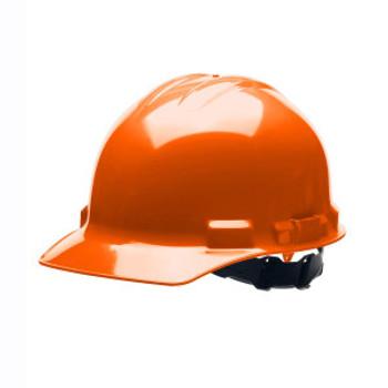 H24S3 DUO  ORANGE CAP-STYLE HELMET  4-POINT PINLOCK SUSPENSION Cordova Safety Products