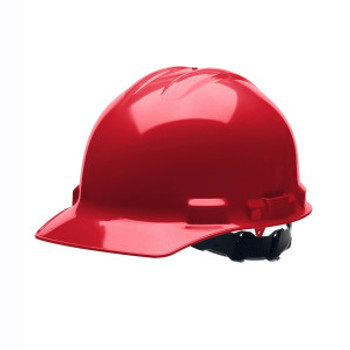H24S4 DUO  RED CAP-STYLE HELMET  4-POINT PINLOCK SUSPENSION Cordova Safety Products