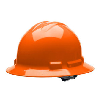 H34R3 DUO  ORANGE FULL-BRIM STYLE HELMET  4-POINT RATCHET SUSPENSION Cordova Safety Products