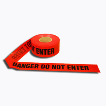T40212 4 MIL Barricade Tape  RED DANGER DO NOT ENTER Cordova Safety Products