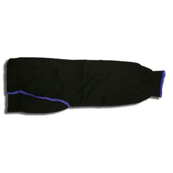3738BKG2T RIPCORD   BLACK HIGH TENACITY NYLON/COTTON PLAITED SLEEVE  18-INCH  2-INCH GUSSET  THUMB SLOT  ANSI CUT LEVEL 2 Cordova Safety Products