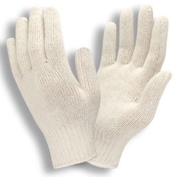 3400L MEDIUM WEIGHT  NATURAL  POLY/COTTON MACHINE KNIT Cordova Safety Products