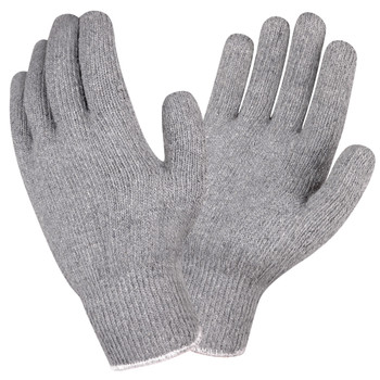3214GI STANDARD WEIGHT  GRAY  LOOP-IN  KNIT WRIST Cordova Safety Products