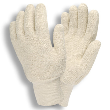 3218S STANDARD WEIGHT  NATURAL  LOOP-OUT  KNIT WRIST Cordova Safety Products