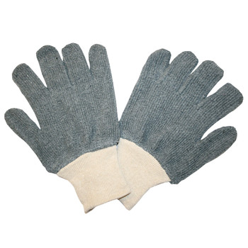 3218GS STANDARD WEIGHT  GRAY  LOOP-OUT  KNIT WRIST Cordova Safety Products